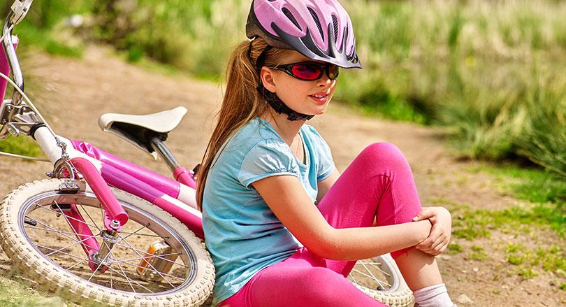 Undvik detta när du lär ditt barn cykla