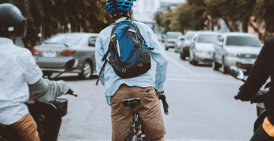 Hitta den bästa cykelrutten till jobbet