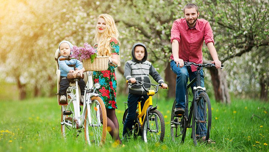 Thule cykelsits – en extra trygg cykelsits