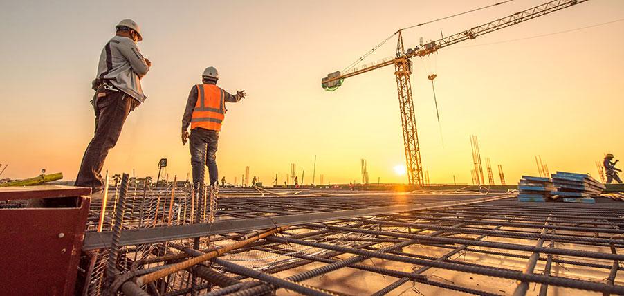 Vilka tjänster erbjuds av byggföretag?
